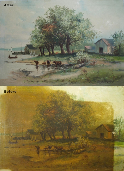 Landscape Painting Restoration