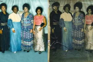Group Photo Restoration