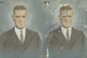 Man Photo Restoration